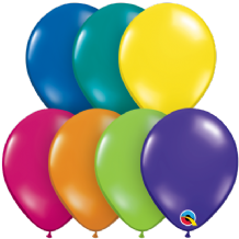 5 inch Fantasy Assortment Balloons - Qualatex 100pcs